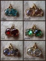 Glass pendants by UEdkaFShopie