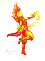 Flame Prince by fireflamer789