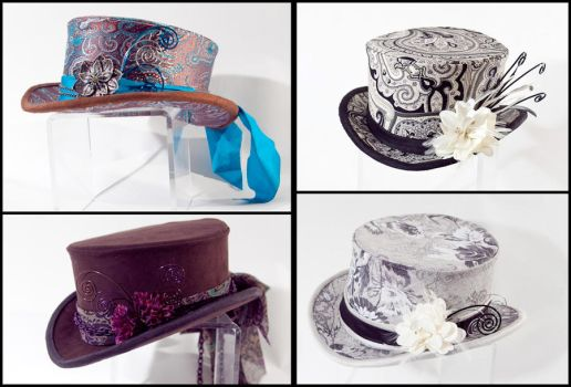 More Mid-Sized Hats by Elemental-Sight
