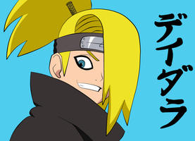 Deidara by disposablexteens