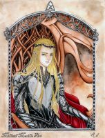 The Elven King Thranduil by Mirubefu