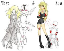 Then and now 2009-2010 by Fiftyshadesofkay