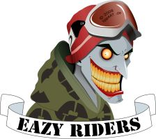 Eazy Riders LOGO by Stan88