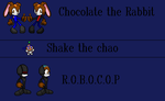 Chocolate,shake, and robocop by NiccoRae77