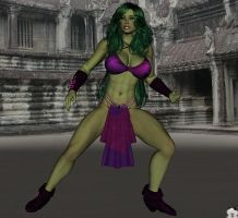 Earlier Version of She-Hulk by WOW-Creations