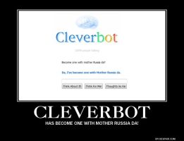 Cleverbot is one with Mother Russia by 3golondrinas
