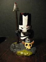 Dark Castle Crasher Sculpture by PrincessTigerLili