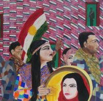 kurds : songs -only- of freedom by ckp