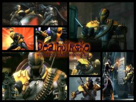 Deathstroke - injustice gods among us by StarkilerOmega