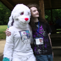 Pullen Park Furry Meet-up: Bacon Wolf by Ice-Artz