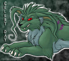 Mutant Gelert by PsychicPsycho