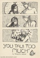 you talk too much by saniika