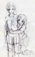 Ai and Aoi by Stich-tyan