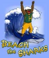 Beach the Sharks - Homecoming Shirt by Thiridian