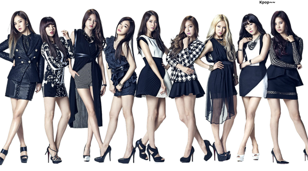 Girls Generation -The Best- *RENDER* by K-popx3