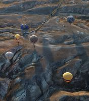 Balloons of Cappadocia - II by Suppi-lu-liuma