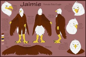 Jaimie Eagle Ref by Otterman89
