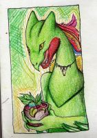Sceptile by fishmm
