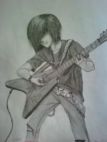 Guitarist Randon by LinksGirlfriendZelda