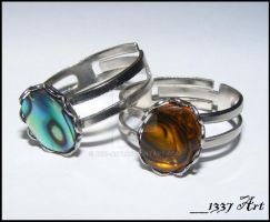 Creative Process Rings by 1337-Art