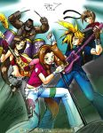 FF7 Rock n Roll by johnjoseco