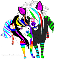 scene dog couple by Mamie-Adopts-15