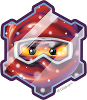 Ninjago Winter - BADGE by skcolb