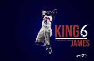 Lebron James Wallpaper by PFDesigns