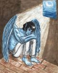 Blue and Lonely by Dani-Claw