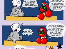 Comic: Homestar's Party by eternalsaturn