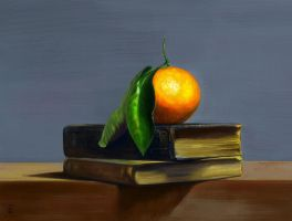 Tangerine (Digital Painting Mastercopy) by darkspeeds