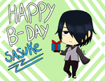 Sasuke - Happy B-Day by AniiTaRuiz