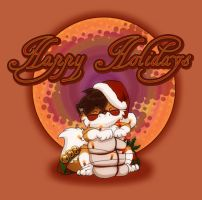 Happy Holidays 2k5 from Spike by workshop