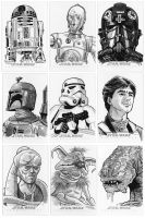 Star Wars Cards 5 by 93Cobra