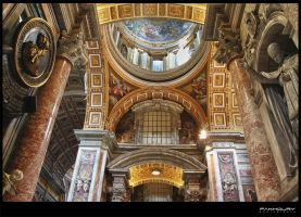 St. Peter's Basilica Church by saleemFa5oury