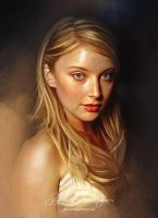 Pretty Face P2- Elisabeth Harnois by Amro0