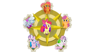 Mane-6 next Generation!(Filly) by PureZparity
