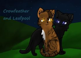 Crowfeather and Leafpool end of 2011 picture by NeOnXNightstorm