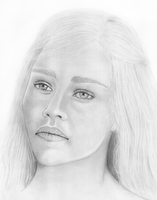 Emilia Clarke as Daenerys Targaryen II by MarinaSchiffer