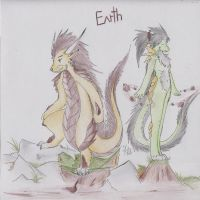 Earth Type Dragons by Dragon-Wish