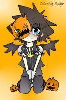Halloween Town Sora colored by me by Rody2