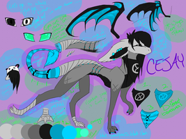 Cejay (Cj/CJ) ref., doh by fizzymoth