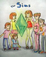 The Sims by ApplePie53