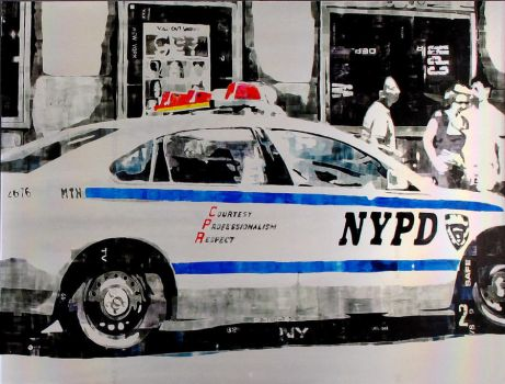 NYPD IV particular-2 by FabrizioBellanca