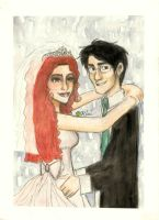 James and Lily's Wedding by kiwikewte