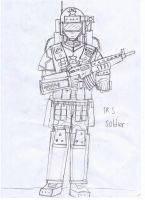 IRS Soldier with S35A AR by Target21
