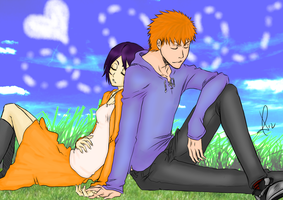 Sleeping Time - IchiRuki by jaydz-05