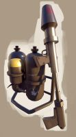 TF2 Style Flamethrower by HeartTheEternal
