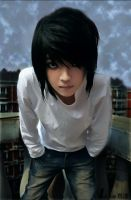 DEATH NOTE   L Lawliet by Arsene77