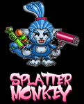 Splatter Monkey by debureturns